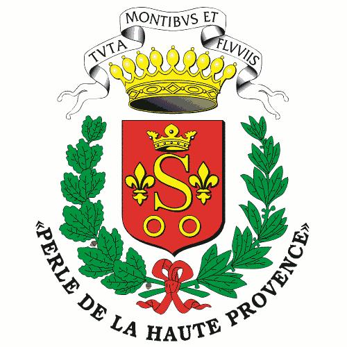 Logo de la ville de Sisteron